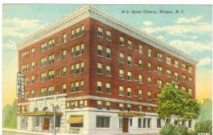 Hotel Cherry, Winston-Salem, North Carolina,  30-40s
