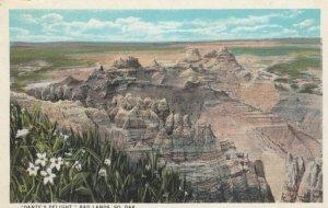 BADLANDS, South Dakota, 1900-10s; Dante's Delight