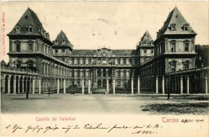 CPA Torino Castello del Valentino . ITALY (542862)