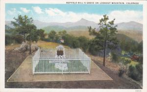 COLORADO, 1900-1910's; Buffalo Bill's Grave On Lookout Mountain