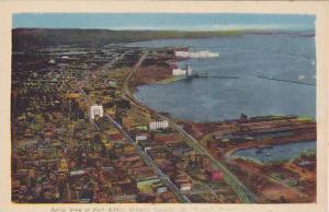 Aerial View Of Port Arthur, Ontario, Canada, 1930-1940s