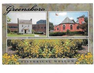 Greensboro North Carolina Historical Museum 4 by 6 card