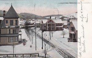 HARDWICK, Vermont, PU-1907; Highland Avenue