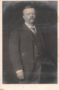 Theodore Roosevelt, 26th U.S. President 1905 Postcard