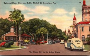 Florida St Augustine Cathedral Place Plaza and Public Market