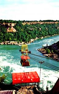 Canada - ON, Niagara Falls. Spanish Aero Car (Aerial Lift)