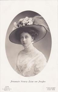 RP; Prinzessin Victoria Luise von Preussen, GERMANY, 1912-1915s