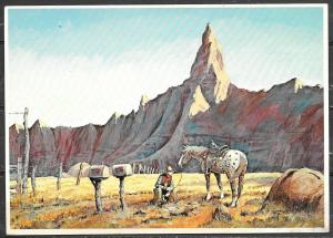 South Dakota, Wall, Wall Drug Painting, unused