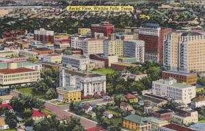 WICHITA FALLS, Texas, 1900-1910's; Aerial View