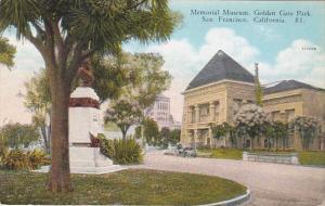 California San Francisco Memorial Museum Golden Gate Park