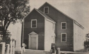 Waldoboro, Maine, ME, Old German Church, 1952 Vintage Postcard g2203