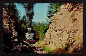 SD Klondike Casey Train Railroad HILL CITY SOUTH DAKOTA