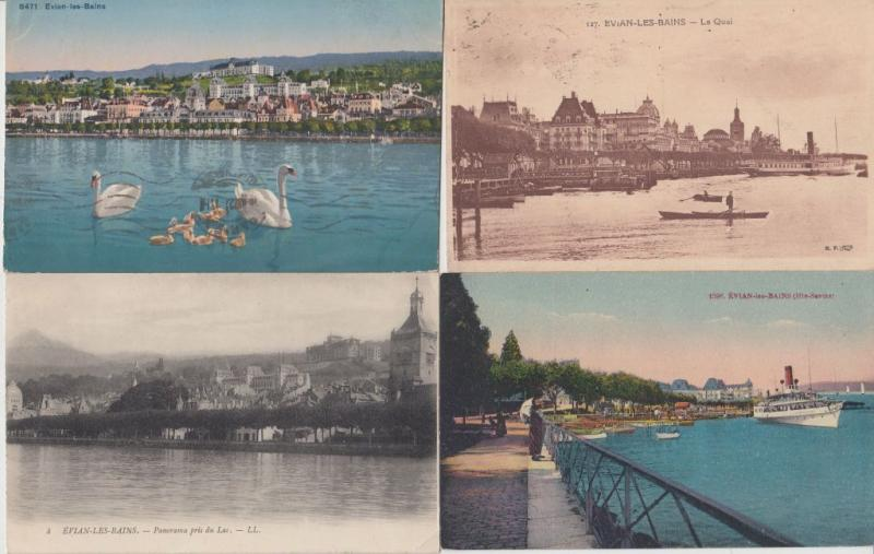 EVIAN HAUTE-SAVOIE (DEP.74) 350 Cartes Postales
