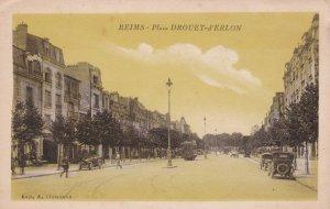 REIMS , France , 1910-30s ; Place DROUET-d'ERLON