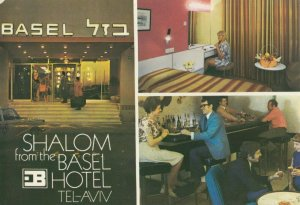 ISRAEL , 1950-70s ; TEL-AVIV ; Basel Hotel