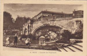 France Metz Cascade de l'Esplanade 1938