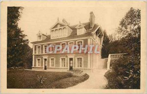 Old Postcard The Baissonnets Facade and Terrace