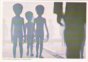 Close Encounters Of The Third Kind The Aliens Observe Humankind
