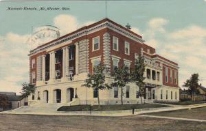 McALESTER Oklahoma, PU-1911 ; Masonic Temple