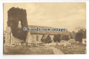 cu2501 - Holy Trinity Parish Church with Ivy Tower, in Cookham - postcard