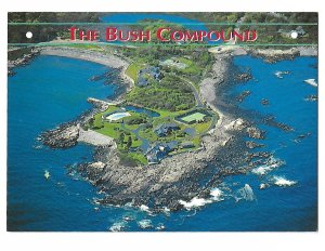 The Bush Compound Kennebunkport Maine Aerial View  4 by 6