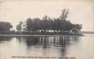 Elbow Lake MN~Homne @ Point Comfort, Pomme De Terre (Potato Lake)~1908