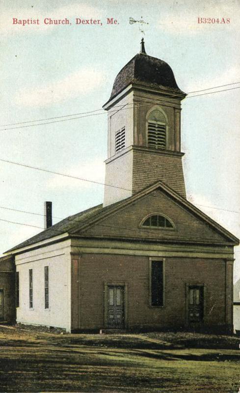 Baptist Church At Dexter Penobscot County Maine Near