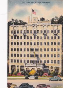 HOT SPRINGS , Arkansas , 1930-40s , Park Hotel