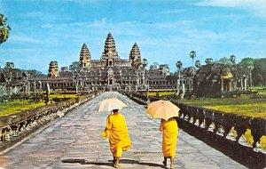Angkor Wat, seen through Main Entrance Cambodia, Cambodge Unused