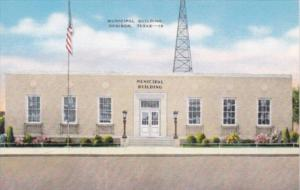 Texas Denison The Municipal Building