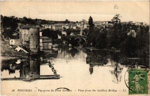 CPA POITIERS - Vue prise du Pont GUILLON (365657)