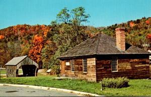 Vermont Springfield Eureka School House Built 1785 Oldest School House In Ver...
