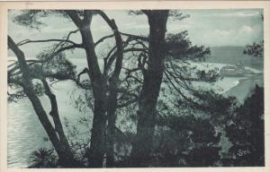 NICE, Alpes Maritimes, France, 1900-1910´s; The Bay Of Angels Through The Pi...