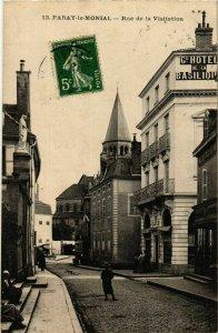 CPA Paray le Monial Rue de la Visitation FRANCE (952952)