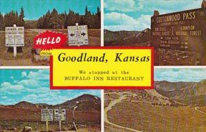 Kansas Hello From Goodland Multi View