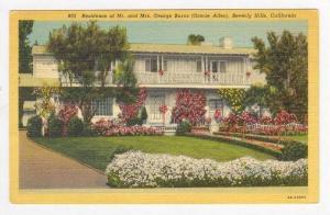 Residence Of Mr. & Mrs. Burns,Beverly Hills,CA,PU-1942