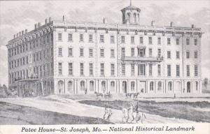 Patee House National Historical Land Mark Saint Joseph Missouri