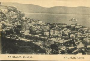 greece, NAUPLIE NAFPLION, Panorama (1920s) I