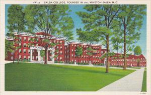 North Carolina Winston Salem Salem College