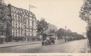 PARIS, France, 1900-10s; Le Terrass Hotel, Avenue de la Grande Armee
