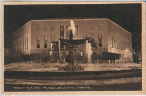 49757   CARTOLINA d'Epoca - FOGGIA citta' : FONTANA MONUMENTALE