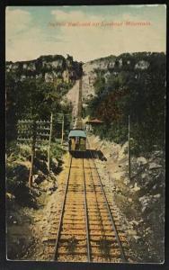 Incline Railroad up Lookout Mountain Hardison & Bennett 12918
