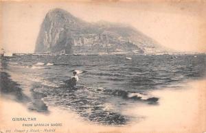 Gibraltar From Spanish Shore  From Spanish Shore