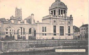 La Nouvelle Banque Nationale Gand Belgium Unused