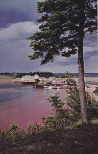 Fisherman's Wharf , FORTUNE BAY , P.E.I. , Canada , 40-60s
