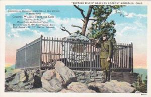 Buffalo Bills Grave on Lookout Mountain, Colorado, 10-20s