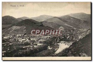 Thann - Vue Generale - Old Postcard
