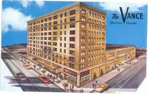 The Vance Motor Hotel Seattle Washington WA