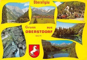 Gruss aus Oberstdorf Oberallgaeu, Gasthaus Pension Terrace Lake Mountains