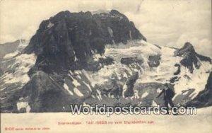 Todi vom Claridenfirn aus Glarneralpen Swizerland Unused
